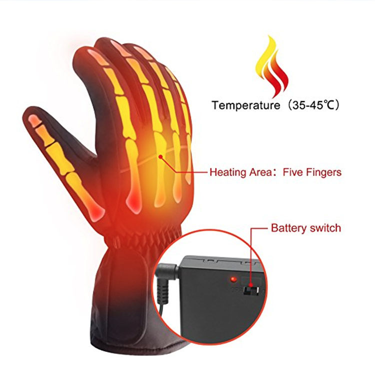 Fashion Heated Electric Shock Gloves