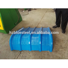 Runde Metallblech Dach Roller Dachblech Crimp-Fliesenherstellung Maschine, Metall Dach-Panel Bend Machine