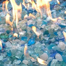 Hot Sale Glass Stones for Fire Pit