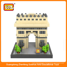 LOZ Architecture Block Set Type and Plastic Material loz blocks