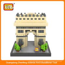Loz Bloco de Arquitetura Tipo de Conjunto e Material Plástico loz blocks