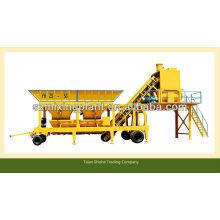 30m3 / h YHZS30 мини портативный бетоносмесительный завод на продажу
