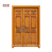 Wood Windows and Door Wood Door Catalogue with Main Door Design Solid Wood