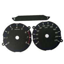 Placa de medição 2D do componente de segurança / instrumento plano