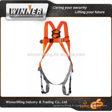 Chine fournisseur d'une gamme complète de corps de harnais de sécurité