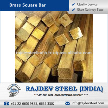 2017 Optimum Quality Abrasion Resistant Brass Square Bar at Attractive Market Price