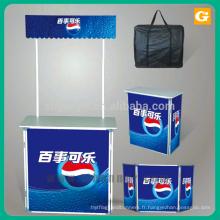 Wholesale durable promotion comptoir table