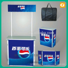 Wholesale durable promotion counter table stand