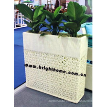 Garten Pflanzer / Outdoor Rattan Möbel / Blumentopf