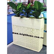 Jardinera / muebles al aire libre de la rota / pote de flor