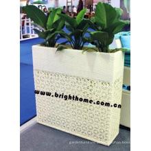 Jardineira / Mobília de Rattan ao ar livre / Flower Pot