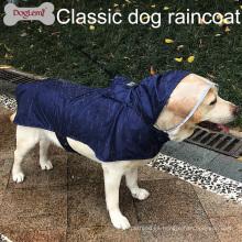 Impermeable perro impermeable portátil mascota grande lluvia chaqueta