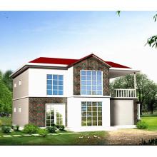 Vorfabriziertes Stahlstruktur-modernes lebendes Haus