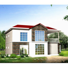 Estructura de acero prefabricada Casa de estilo moderno