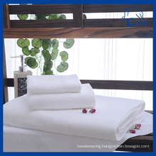 3PCS White Hotel Towel Sets (QAD5511)