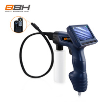 Magnetic valve controlling vehicle tools flexible snake scope evaporator cleaning borescope camera