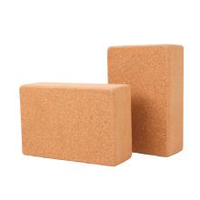 Yugland Wholesale Eco friendly Superior Natural Cork yoga blocks