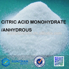 High quality food additive natural citric acid monohydrate powder
