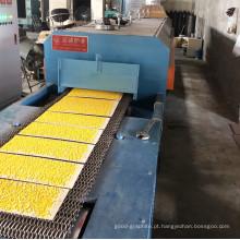 Fornalha de sinterização com haste de metalurgia do pó