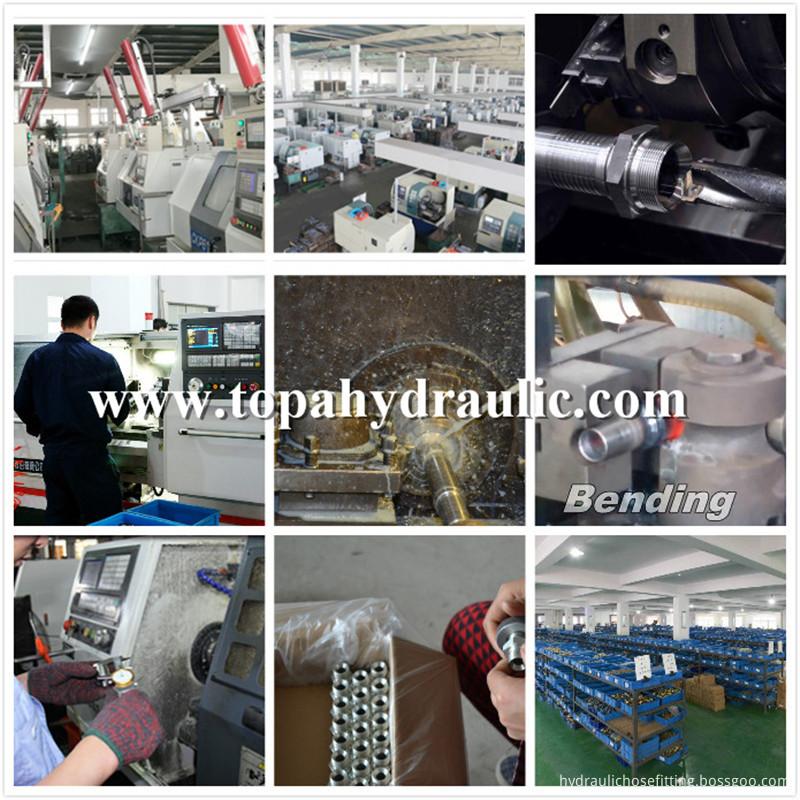 Eaton stainless steel vacuum hydraulic hose