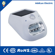 Blanco cálido 0.5W Mini SMD LED Lámpara de energía solar