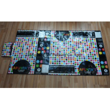 Colorful Print Non-Woven Beach Mat with Lamination