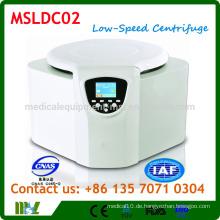 MSLDC02 Tisch-Typ Niedergeschwindigkeits-Zentrifuge / Benchtop-Niedergeschwindigkeits-Zentrifugenmaschine