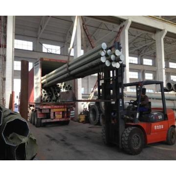 Distribuição Galvanizada Transmissão de Energia Pólo de Aço