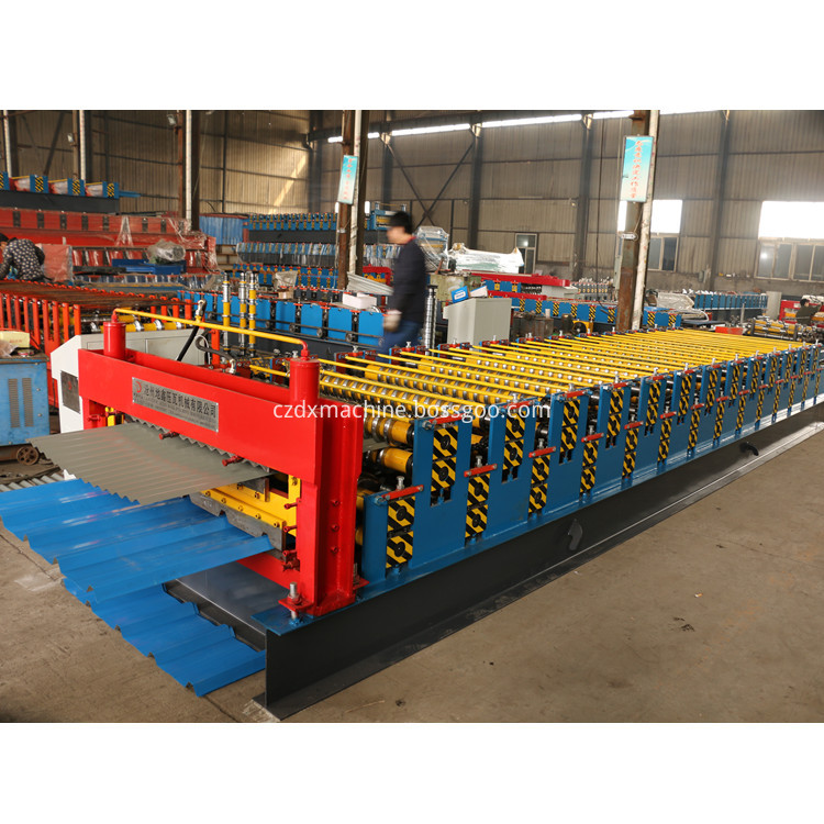 Double Layer Roll Forming Line