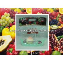 fresh vegetables plastic bags/plastic fruit mesh bag/perforated plastic bags