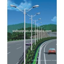 Stahllichtpfosten für Autobahn