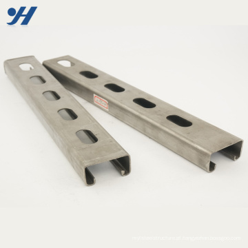 Aço de canal inoxidável do sistema de apoio de Professinal, suporte de aço do canal c
