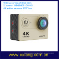 external mobile waterproof action mini camera without wire