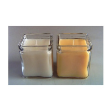 Crystal glass candle with natural fragrance