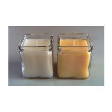 Bougie en verre de cristal au parfum naturel