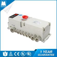 Caja de control para sistema de motor DC