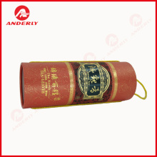 Gold Foil Luxury Tea Packaging Gift Paper Tube