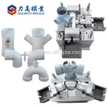 Moldeo a presión plástico de la guarnición del tubo del pvc de la alta tenacidad 90 baratos