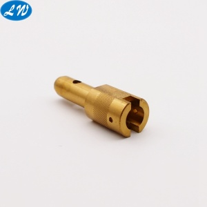 Custom metal cnc turning machining brass turning parts