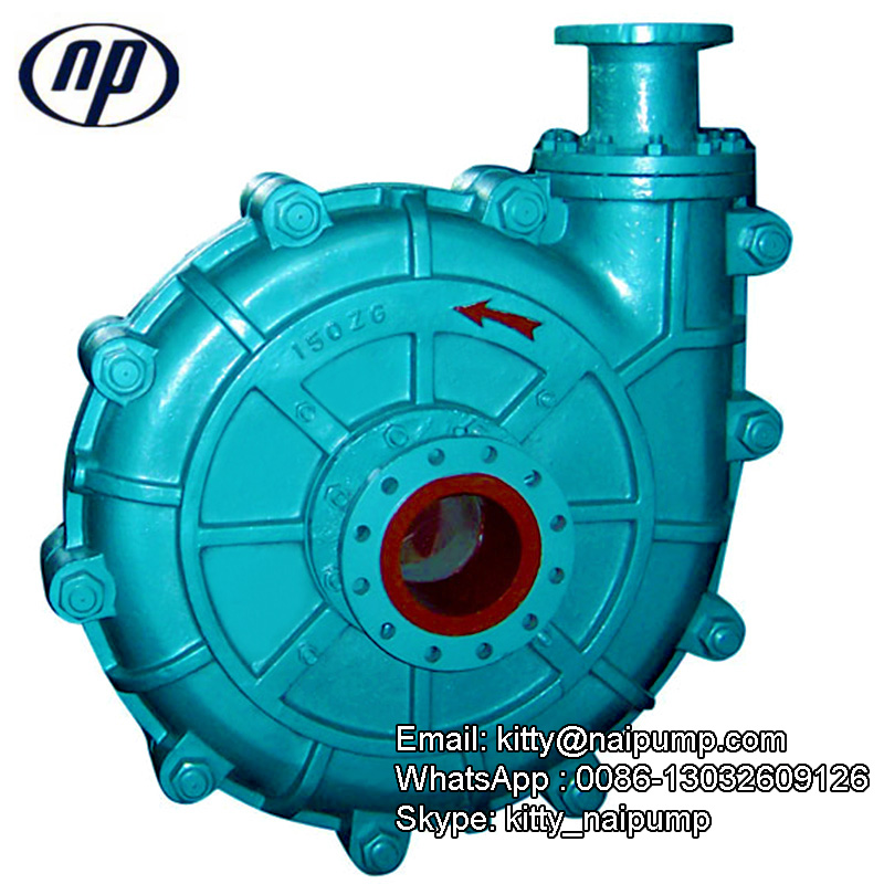 ZG Coal Mining Slurry Pumps