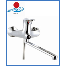 Wandmontierter Küchenspüle Wasserhahn in Sanitärkeramik (ZR22203-B)