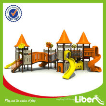 Ancient City Style Series Daycare Playground Equipment LE-CB009