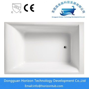 The unique design of  horizon freestanding tub