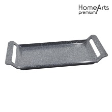 Aluminum Die-cast Rectangular Grill Pan