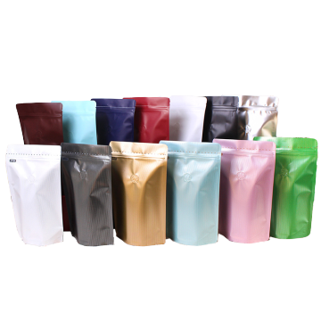 Colorful Stand up Coffee Bags