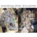 Silla de masaje expendedora Hengde Paper Money
