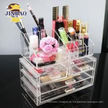 Jinbao pessoal personalizar cristal nova caixa de acrílico quente com gaveta