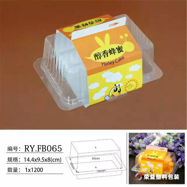 Triangle Clear Plastic Packing Box