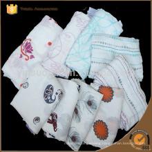 "Muslin bamboo fiber Newborn Baby Bath Towel Swaddle Blanket 47""*47"""
