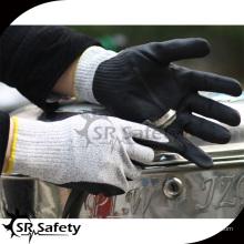 SRSAFETY трикотажная нитрильная перчатка / защитные перчатки
